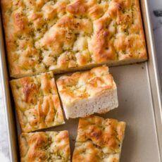Foccacia Recipe, Focaccia Bread Recipe, Homemade Focaccia Bread, Homemade Breads, Homemade Dinner Rolls, Dinner Rolls Recipe, Dinner Recipes, Best Pizza Dough, Good Pizza