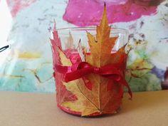 őszi levelek a lakásban Candle Holders, Candles, Food, Essen, Porta Velas, Candy, Meals, Candle Sticks, Yemek