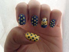 20 Most Adorable Despicable Me Minions Nail Art Designs