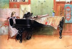 TICMUSart: Playing Scales - Carl Larsson (I.M.)