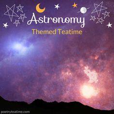 Astronomy Themed Teatime