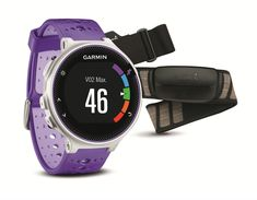Garmin Forerunner 230 HR Bundle Violett White Running Sportuhr GPS Funktionsuhr