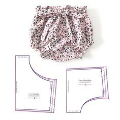 Baby epaulette EASY - Baby clothes baby s . Baby epaulette EASY - Baby clothes baby shoulder board EASY - Baby clothes This image has ge. Sewing Shorts, Sewing Clothes, Doll Clothes, Fabric Bow Tutorial, Shorts Tutorial, Baby Pants Pattern, Baby Girl Dress Patterns, Baby Dress, Baby Outfits