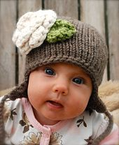 Ravelry: Ferynn Baby Cap pattern by Heidi May