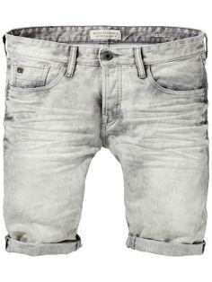 Ralston shorts - Acid Pencil | Denim Shorts | Men Clothing at Scotch & Soda