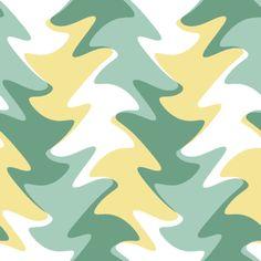 spring colors leaf swirl fabric by weavingmajor on Spoonflower - custom fabric
