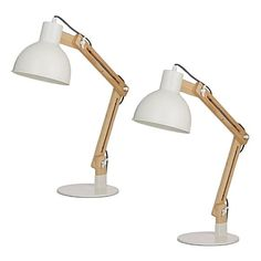 Model a handsome, contemporary look in your home office with the adjustable Miranda Desk Lamp (Set of from Amalfi. Bedside Lamp, Desk Lamp, Table Lamp, Lamp Sets, Amalfi, Contemporary, Lighting, Home Decor, Table Lamps