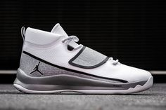 Jordan Super.Fly 5 PO 'White, Black & Wolf Grey' - EU Kicks: Sneaker Magazine