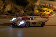 Building of a slot car track by Michael Nyberg