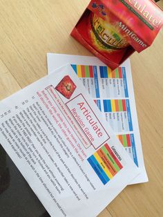 Articulate - product design! DT revision game