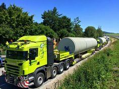 Scania Heavy hauled truck