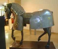 ca. 1450 - heavy horse armour (Pier Innocenzo da Faerno), Milano, Wien Museum Karlsplatz, Wien, Austria by roelipilami, via Flickr