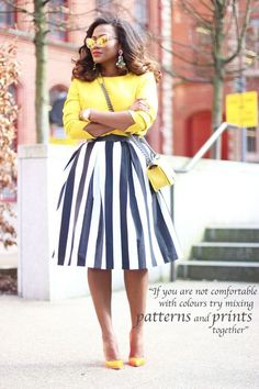 love the bright yellow!