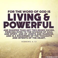 Image result for picture Hebrews 4:12