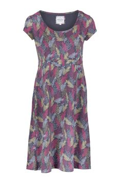 Fern Print Dress  http://www.mistral-online.com/clothing-c50/tunics-dresses-c1/fern-print-dress-pink-grey-tobacco-mix-p17088