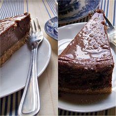 Pastel de chocolate con licor de café. #cakes#chocolate