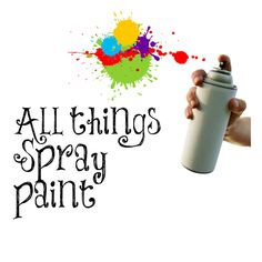 All things spray paint. My 30 + gallery of diy projects done with spray paint.