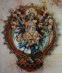 Goddess Within You Kali Tattoo, Mother Kali, Divine Mother, Kali Goddess, Goddess Art, Hindus, Kali Mata, Goddess Tattoo, Sacred Feminine