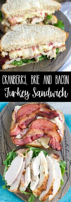 Get ready to love your Thanksgiving leftovers all over again! This Cranberry, Brie & Bacon Turkey Sandwich is a delicious combination of tangy, meaty goodness you'll want to eat all year long! via @breadboozebacon