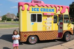 Cute Ice Cream Trucks:).....I want to work on one for the summer!!!!