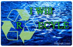 Reuse. Reduce. Recycle #Resolutions