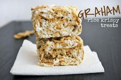 Mallow and Co: Graham Rice Krispy Treats