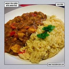 This mushy pea curry sounds vile, yes, but it tastes really good - syn free with a thick curry sauce - perfect Slimming World fodder. Healthy Eating Recipes, Diet Recipes, Cooking Recipes, Diet Meals, Skinny Recipes, Healthy Meals, Healthy Food, Vegan Recipes, Vegane Rezepte
