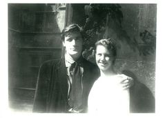 Ted Hughes and Sylvia Plath in Paris by Faber Books, via Flickr