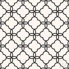Eastern Lattice Moroccan Removable Wallpaper