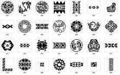 Tribal Images - maya, Meso Deko, Aztec, Native American - www. Mandala Symbols, Tribal Symbols, Mayan Symbols, Symbols And Meanings, Tattoo Designs And Meanings, Tattoos With Meaning, Indian Symbols, Wiccan Symbols, Viking Symbols