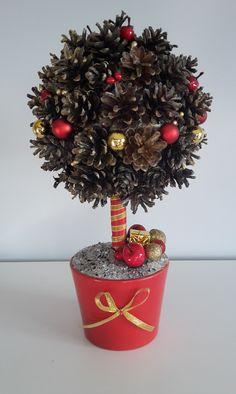 czerwono-złote drzewko