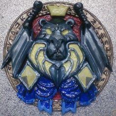 Warcraft Paladin icon logo Blizzard Lion magnet от GhostessTale