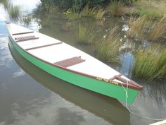 Simple Canoe : 18 Steps (with Pictures) - Instructables Make A Boat, Build Your Own Boat, Diy Boat, Plywood Boat Plans, Wooden Boat Plans, Duck Blind Plans, Flat Bottom Boats, Free Boat Plans, Boat Kits