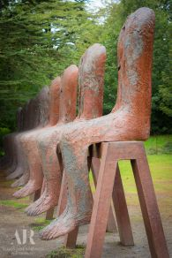 I have heard about how lovely it is at the Yorkshire Sculpture Park and I thought that an early autumn day would be the perfect day to check it out.