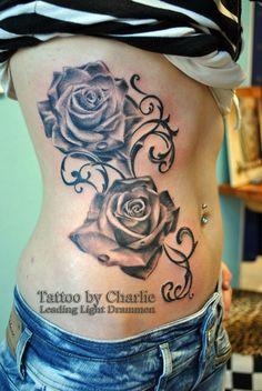 Rose Feminine Tattoo 1 by gettattoo
