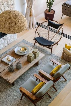 From the Scandinavian styled home in modern Spanish architecture. Love it :) Colonia de Sant Jordi, Mallorca.   http://homeadverts.com