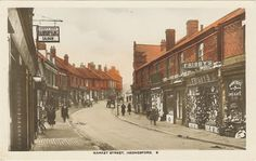 Cannock Chase Heritage Trail Hednesford Town early 1900's