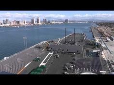 Time-Lapse Video Shows USS Carl Vinson's Transformation into B-Ball Arena