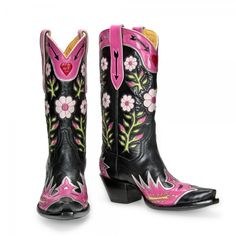 Gypsy Rose Cowboy Boots by Back At The Ranch Cowboy Boots | HorsesandHeels.com