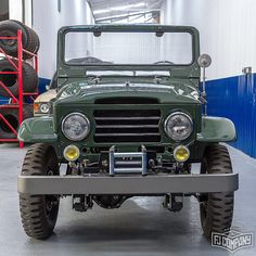 New Project 1960 Toyota LandCruiser FJ25 Army Green.  See related pics for this car #fjco1960armygreen Hi-Res pictures available at www.fj.co ------------------------------------------------------------#fj40 #fj25 #fjcompany #4x4