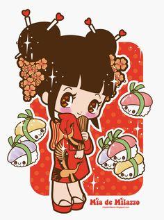 Tea and Mint: ♥ Mía de Milazzo ♥