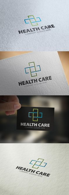 Health Care Logo. Human Icons. $28.00