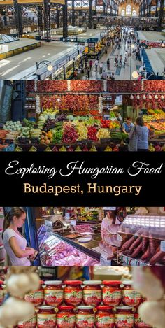 The most delicious thing to do in Budapest: Take a food tour in Budapest, Hungary. Visit the stunning Great Market Hall to sample the best Hungarian ingredients, beverages, and foods. via @caskifer