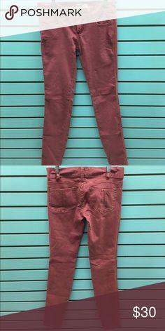 Free People Skinny Jeans Free People Skinny Jeans Rose color Size 25 EUC Free People Jeans Skinny