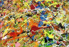 #Pollock #colours