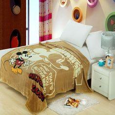 Mickey Mouse fleece deken 150x200