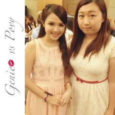 "@geniecullen's photo: ""With @povyteng at #generationbeautytalk2013 #today #sunday #awesome #happy #girl #talk #mivva #penang #cititel"""