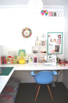 My creative space   #bubbymakesthree #studio #craft #design #interior ideas  www.etsy.com/shop/bubbymakesthree  www.facebook.com/bubbymakesthree1