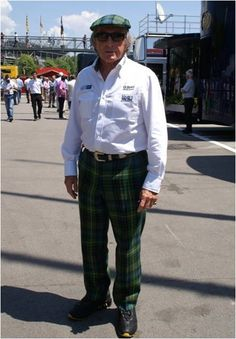 Jacky Stewart, Formula One World Champion.