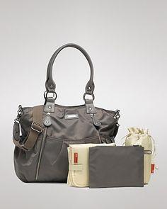 storksak Olivia Nylon Baby Bag | Bloomingdale's. LOVE this bag!